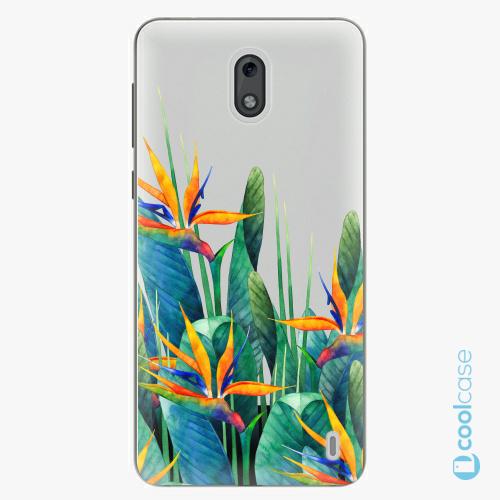 Plastové pouzdro iSaprio Fresh - Exotic Flowers na mobil Nokia 2
