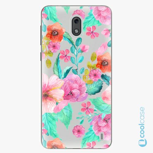 Plastové pouzdro iSaprio Fresh - Flower Pattern 01 na mobil Nokia 2