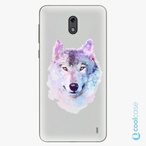 Plastové pouzdro iSaprio Fresh - Wolf 01 na mobil Nokia 2