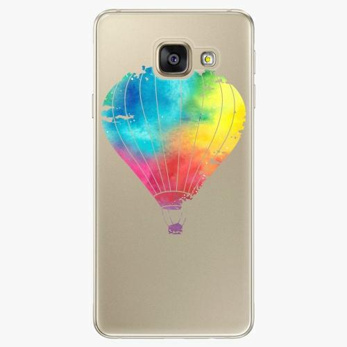 Silikonové pouzdro iSaprio - Flying Baloon 01 na mobil Samsung Galaxy A5 2016