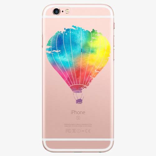 Silikonové pouzdro iSaprio - Flying Baloon 01 na mobil Apple iPhone 7 Plus