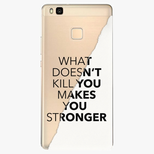 Silikonové pouzdro iSaprio - Makes You Stronger na mobil Huawei P9 Lite