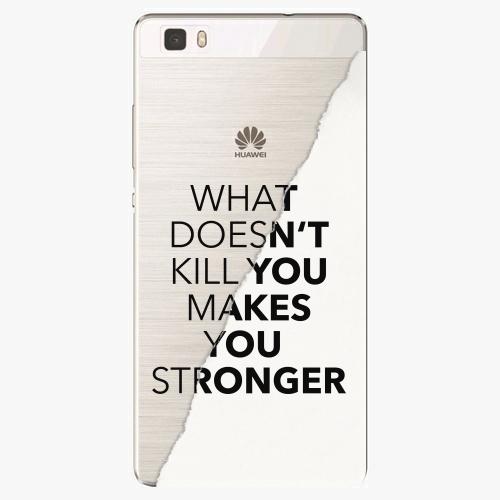 Silikonové pouzdro iSaprio - Makes You Stronger na mobil Huawei P8 Lite