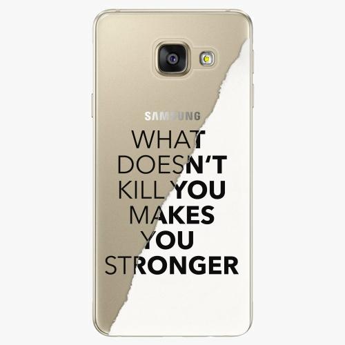 Silikonové pouzdro iSaprio - Makes You Stronger na mobil Samsung Galaxy A5 2016