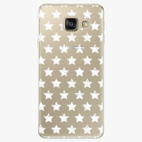 Silikonové pouzdro iSaprio - Stars Pattern white na mobil Samsung Galaxy A5 2016