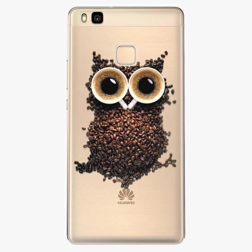 Silikonové pouzdro iSaprio - Owl And Coffee na mobil Huawei P9 Lite