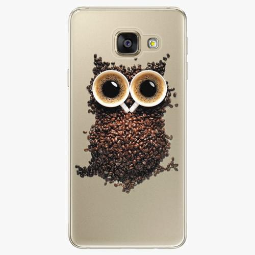 Silikonové pouzdro iSaprio - Owl And Coffee na mobil Samsung Galaxy A5 2016
