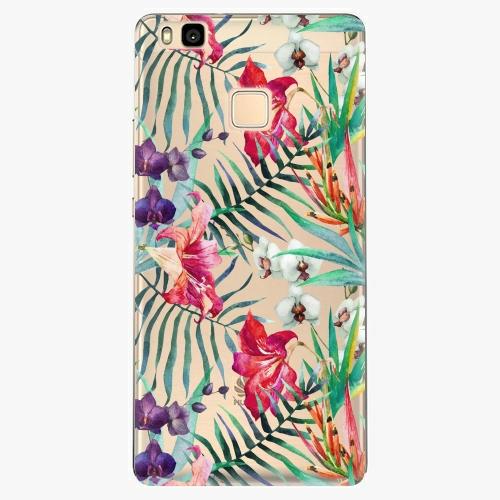 Silikonové pouzdro iSaprio - Flower Pattern 03 na mobil Huawei P9 Lite