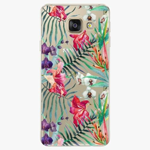 Silikonové pouzdro iSaprio - Flower Pattern 03 na mobil Samsung Galaxy A5 2016