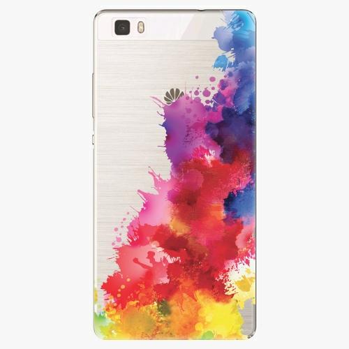 Silikonové pouzdro iSaprio - Color Splash 01 na mobil Huawei P8 Lite