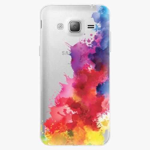 Silikonové pouzdro iSaprio - Color Splash 01 na mobil Samsung Galaxy J3 2016
