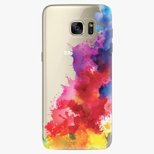 Silikonové pouzdro iSaprio - Color Splash 01 na mobil Samsung Galaxy S7 Edge