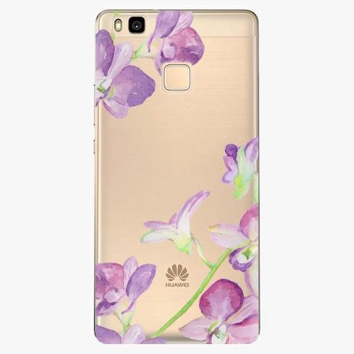 Silikonové pouzdro iSaprio - Purple Orchid na mobil Huawei P9 Lite
