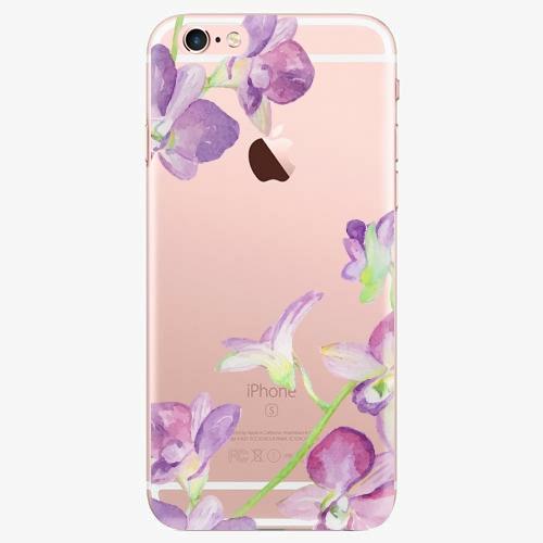 Silikonové pouzdro iSaprio - Purple Orchid na mobil Apple iPhone 7