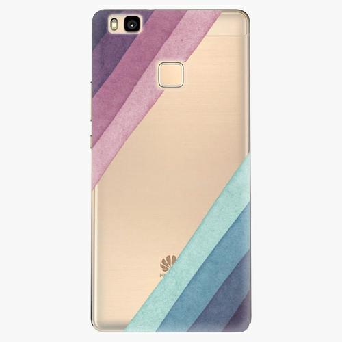 Silikonové pouzdro iSaprio - Glitter Stripes 01 na mobil Huawei P9 Lite