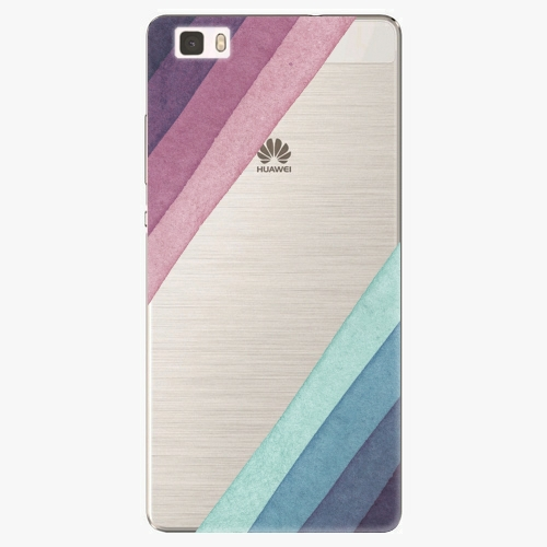 Silikonové pouzdro iSaprio - Glitter Stripes 01 na mobil Huawei P8 Lite
