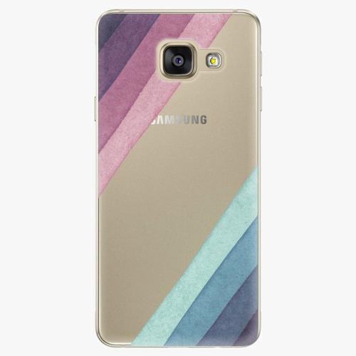 Silikonové pouzdro iSaprio - Glitter Stripes 01 na mobil Samsung Galaxy A5 2016