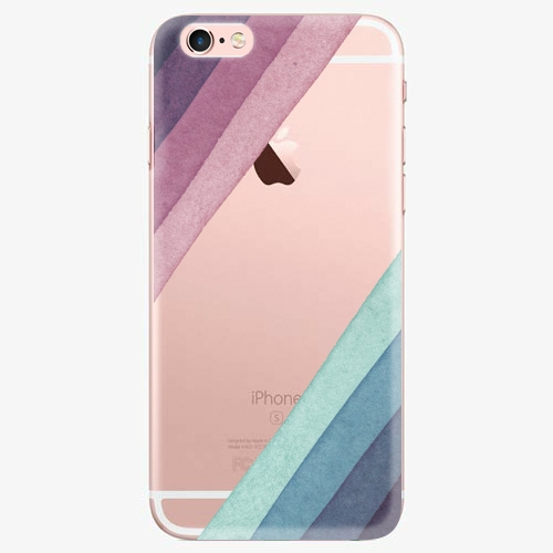 Silikonové pouzdro iSaprio - Glitter Stripes 01 na mobil Apple iPhone 7