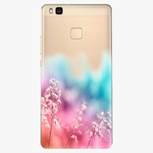 Silikonové pouzdro iSaprio - Rainbow Grass na mobil Huawei P9 Lite
