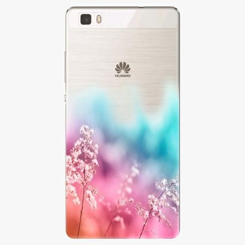 Silikonové pouzdro iSaprio - Rainbow Grass na mobil Huawei P8 Lite