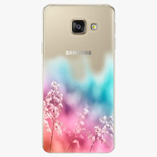 Silikonové pouzdro iSaprio - Rainbow Grass na mobil Samsung Galaxy A5 2016