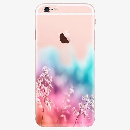 Silikonové pouzdro iSaprio - Rainbow Grass na mobil Apple iPhone 7