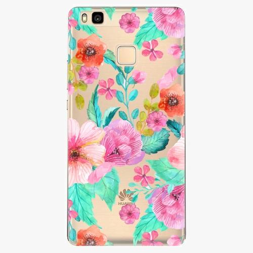 Silikonové pouzdro iSaprio - Flower Pattern 01 na mobil Huawei P9 Lite