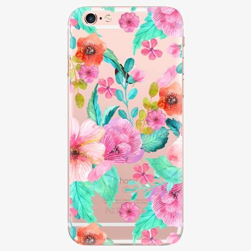 Silikonové pouzdro iSaprio - Flower Pattern 01 na mobil Apple iPhone 7