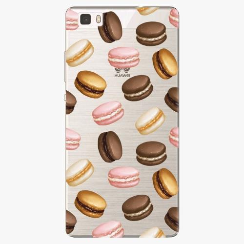 Silikonové pouzdro iSaprio - Macaron Pattern na mobil Huawei P8 Lite