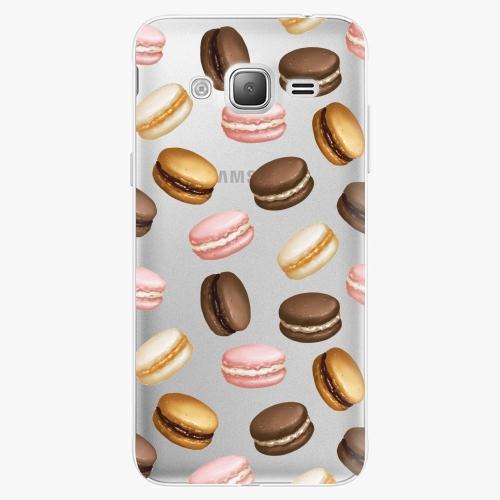Silikonové pouzdro iSaprio - Macaron Pattern na mobil Samsung Galaxy J3 2016