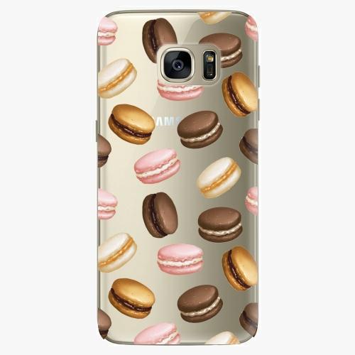 Silikonové pouzdro iSaprio - Macaron Pattern na mobil Samsung Galaxy S7 Edge