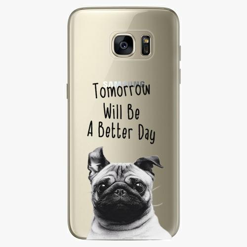 Silikonové pouzdro iSaprio - Better Day 01 na mobil Samsung Galaxy S7 Edge