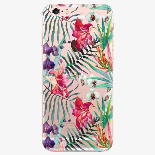 Silikonové pouzdro iSaprio - Flower Pattern 03 na mobil Apple iPhone 7 Plus