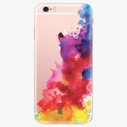 Silikonové pouzdro iSaprio - Color Splash 01 na mobil Apple iPhone 7