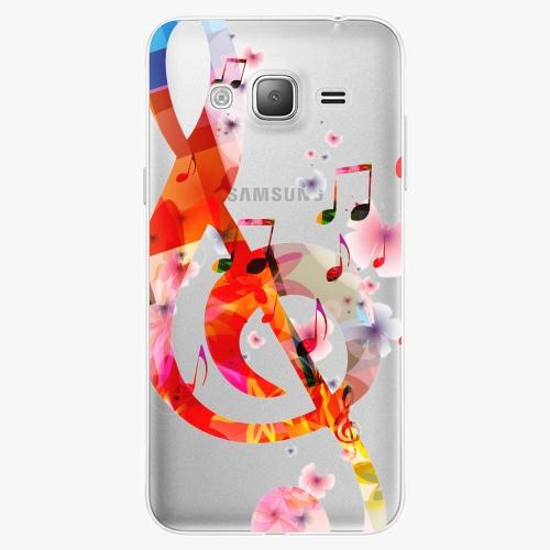 Silikonové pouzdro iSaprio - Music 01 na mobil Samsung Galaxy J3 2016