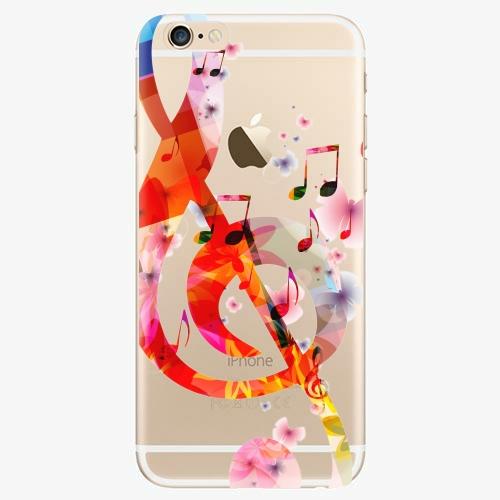 Silikonové pouzdro iSaprio - Music 01 na mobil Apple iPhone 6/ 6S