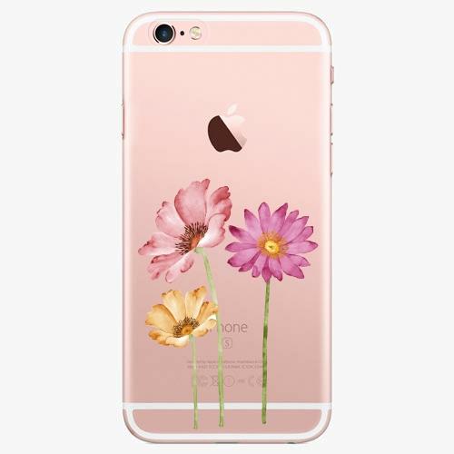 Silikonové pouzdro iSaprio - Three Flowers na mobil Apple iPhone 7 Plus