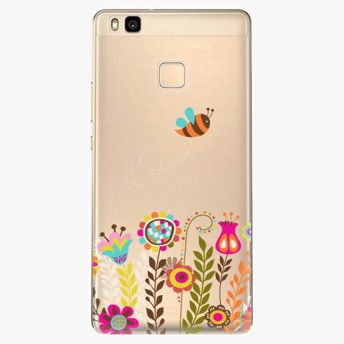 Silikonové pouzdro iSaprio - Bee 01 na mobil Huawei P9 Lite