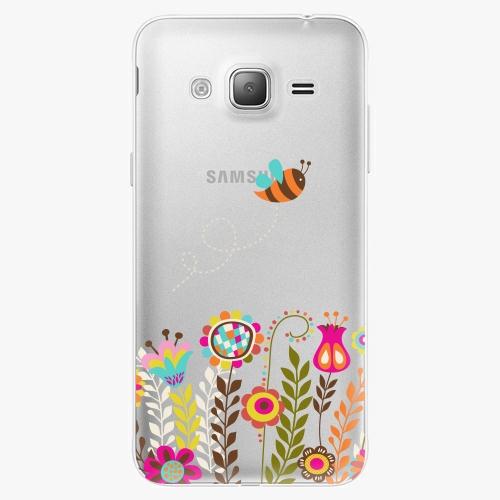Silikonové pouzdro iSaprio - Bee 01 na mobil Samsung Galaxy J3 2016