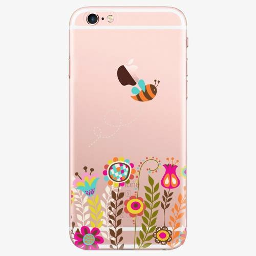 Silikonové pouzdro iSaprio - Bee 01 na mobil Apple iPhone 7 Plus