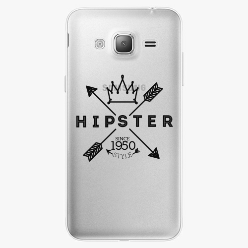 Silikonové pouzdro iSaprio - Hipster Style 02 na mobil Samsung Galaxy J3 2016