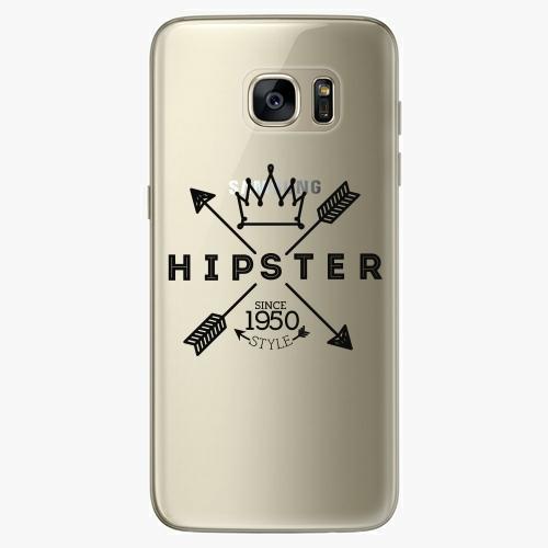 Silikonové pouzdro iSaprio - Hipster Style 02 na mobil Samsung Galaxy S7 Edge