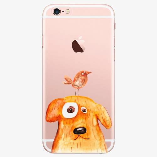 Silikonové pouzdro iSaprio - Dog And Bird na mobil Apple iPhone 7 Plus
