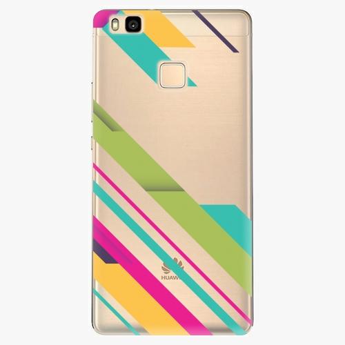 Silikonové pouzdro iSaprio - Color Stripes 03 na mobil Huawei P9 Lite