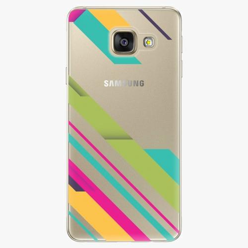Silikonové pouzdro iSaprio - Color Stripes 03 na mobil Samsung Galaxy A5 2016