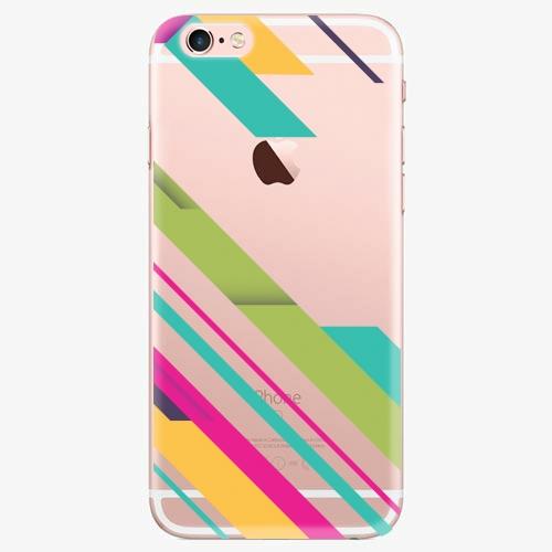 Silikonové pouzdro iSaprio - Color Stripes 03 na mobil Apple iPhone 7 Plus