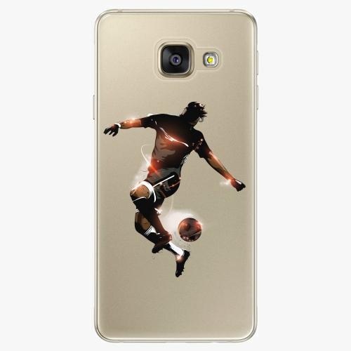 Silikonové pouzdro iSaprio - Fotball 01 na mobil Samsung Galaxy A5 2016