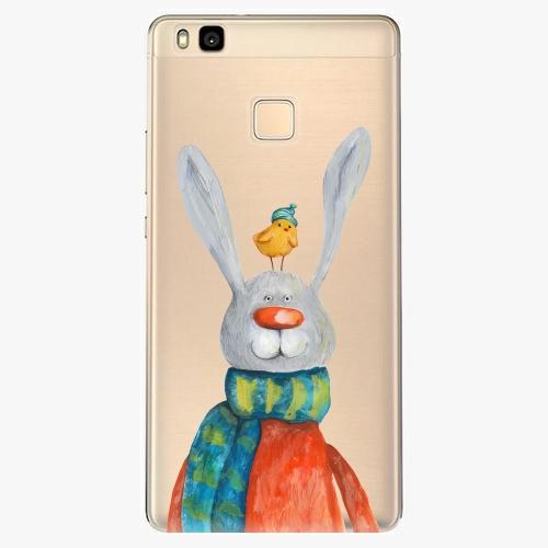 Silikonové pouzdro iSaprio - Rabbit And Bird na mobil Huawei P9 Lite