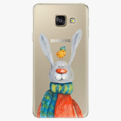Silikonové pouzdro iSaprio - Rabbit And Bird na mobil Samsung Galaxy A5 2016