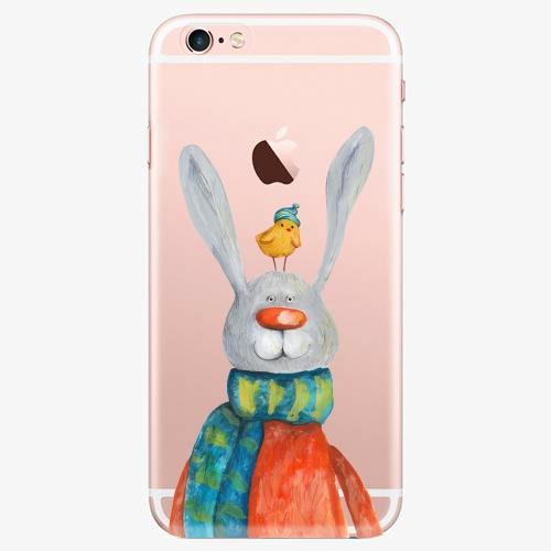 Silikonové pouzdro iSaprio - Rabbit And Bird na mobil Apple iPhone 7 Plus